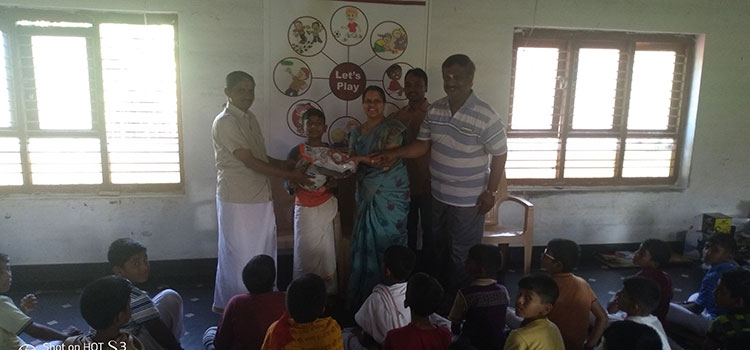 Youth For Seva , study materials distribution